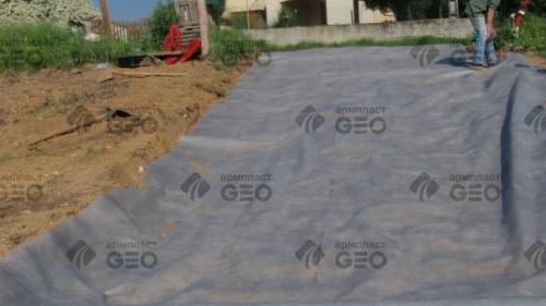 Геотекстиль 200 для укрепления склонов